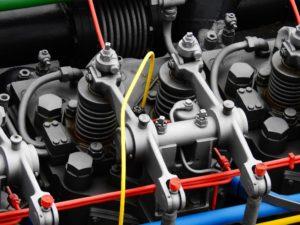 Dieselschiffmotor